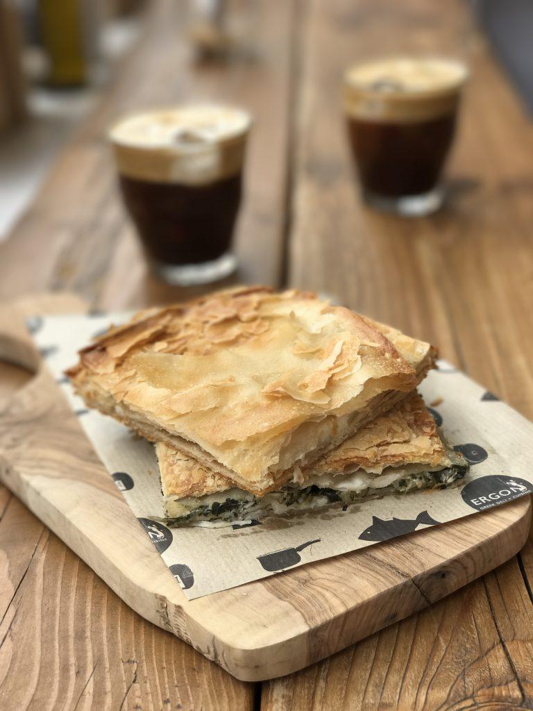 Tiropita, Greek cheese phyllo pie
