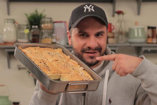 Tiropita Recipe (Greek Cheese Pie) by Tassos Antoniou