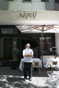 Chef Chris Christou at Nerai NYC