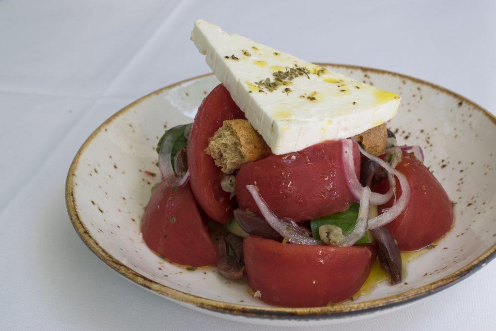 Greek Salad at Nerai NYC - Nerai Greek Restaurant NYC