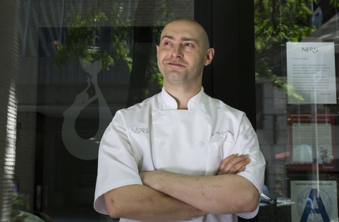 Chef Chris Christou at Nerai NYC
