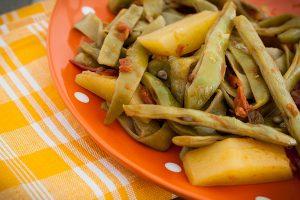 Greek Style Green Beans Fasolakia Recipe