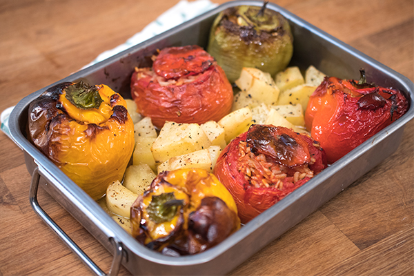 Gemista Recipe Greek Stuffed Vegetables