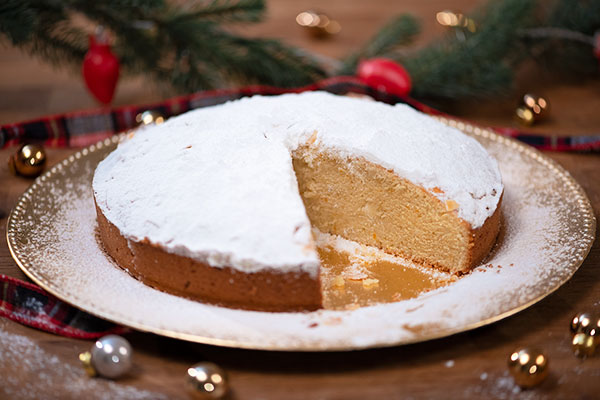 Vasilopita Greek New Year's Cake